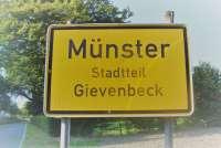 Straßenschild: Gievenbeck